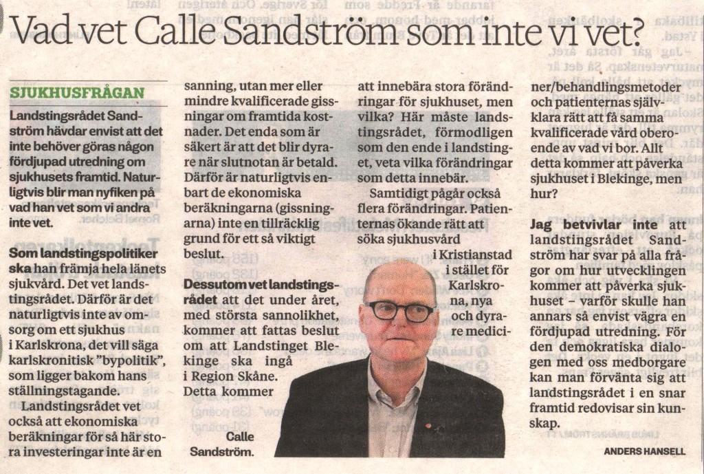 Sandström